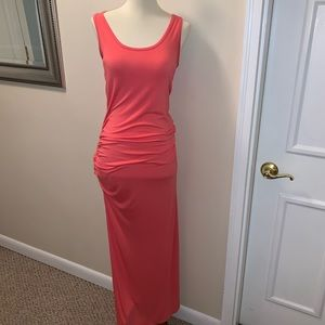 Loveapella ruched maxi dress